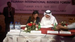 Our General Manager signed the MOU with Fujairah Emirate Government