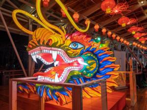 Dragon head Chinese lantern