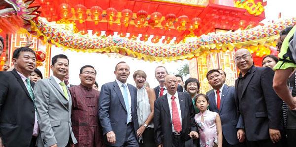 Former Prime Minister of Australia Mr. Abbott visited our festival in Australia
